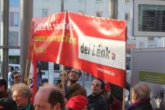 Manifestation contre la privatisation du rail 24.2.2014